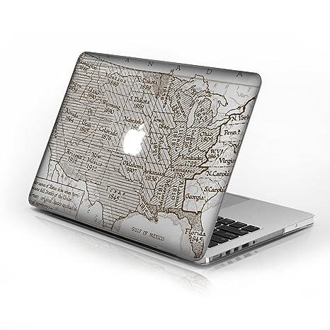 Carcasa rígida de goma duro caso para MacBook Air de 13 ...