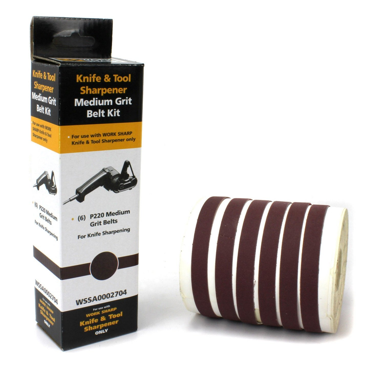 Work Sharp P220 Ceramic Oxide Abrasive Belt