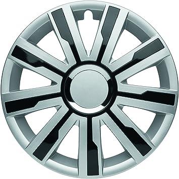 Albrecht Automotive 49516 Radzierblende Mirage 4 Silver Black Plus 16 1 Satz Set Of 4 Auto