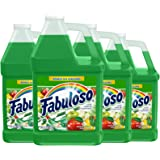 FABULOSO All Purpose Cleaner, Passion of Fruits, Bathroom Cleaner, Toilet Cleaner, Floor Cleaner, Shower and Glass Cleaner, M