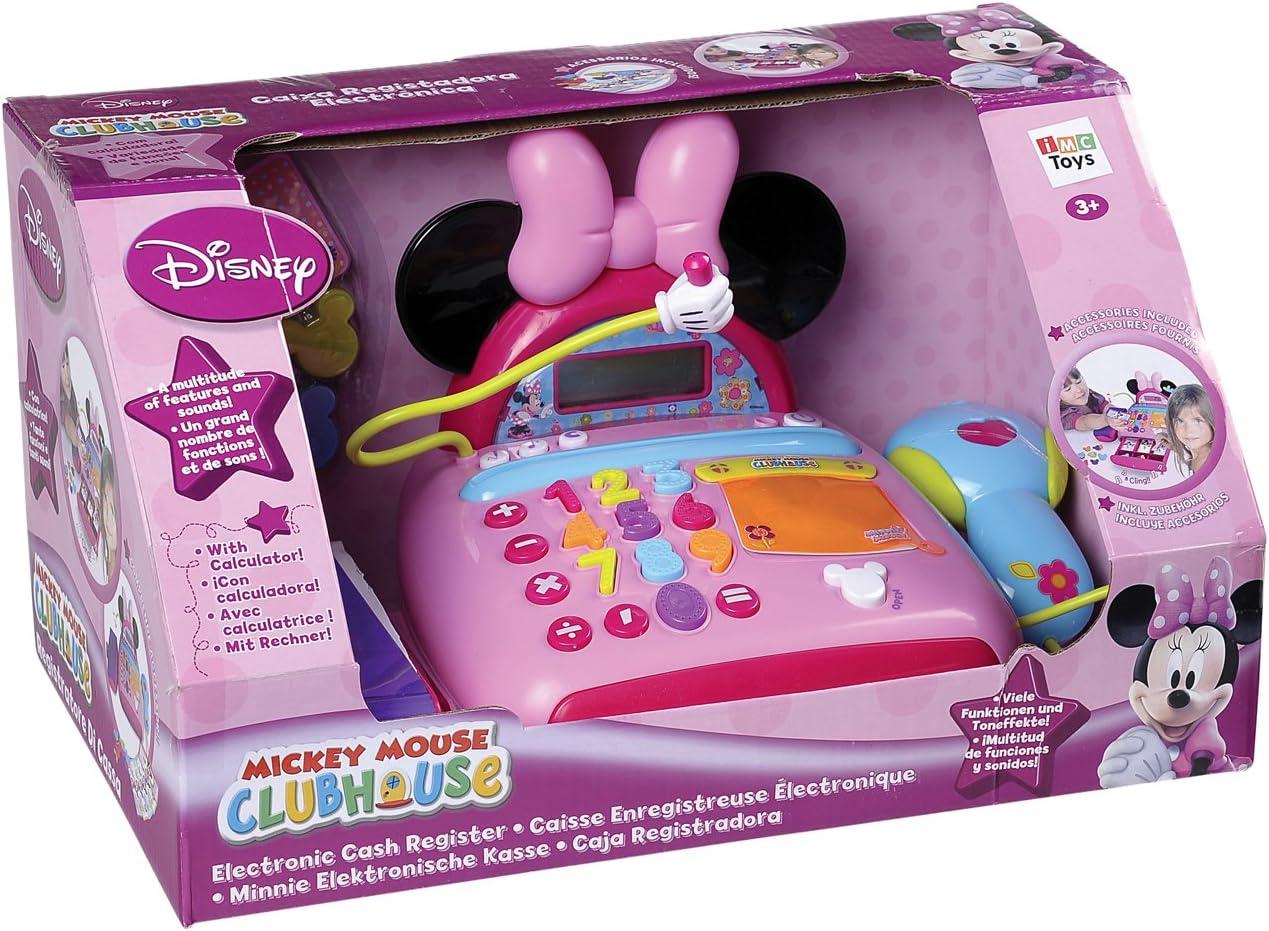 Grandi Giochi GG08501 - Caja registradora, diseño de Minnie: Amazon.es: Juguetes y juegos