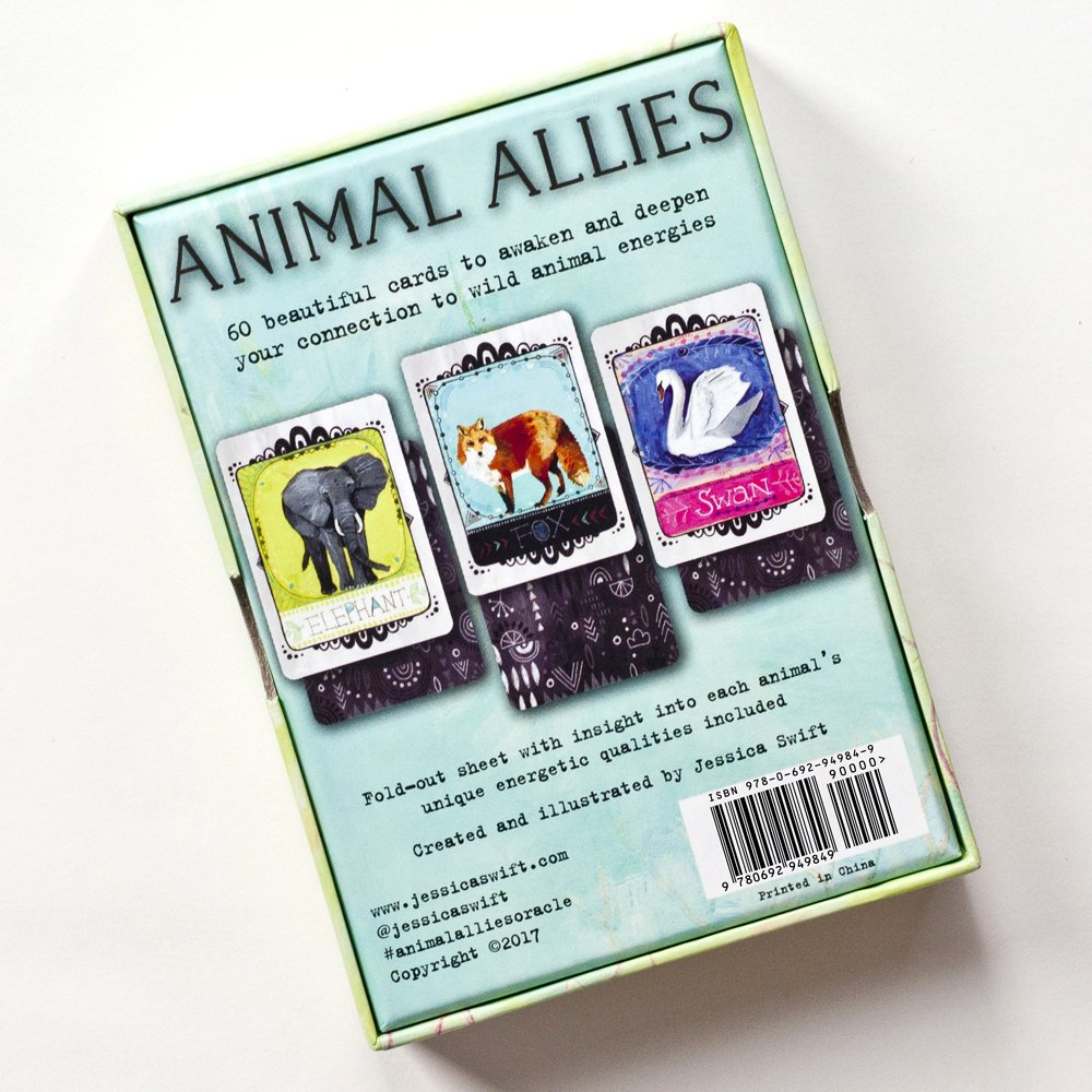 Jessica Swift Animal Allies Oracle Cards by Jessica Swift (Image #2)