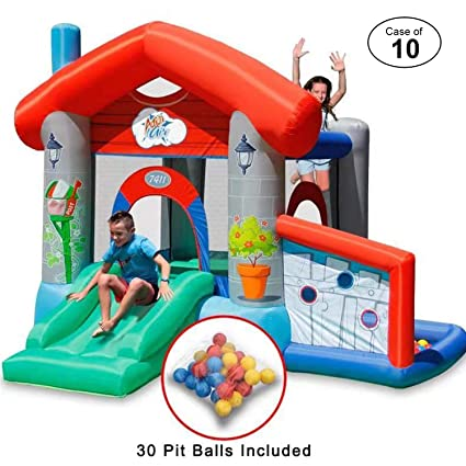 Amazon.com: ACTION AIR - Estuche de 10 bounce House, rebote ...