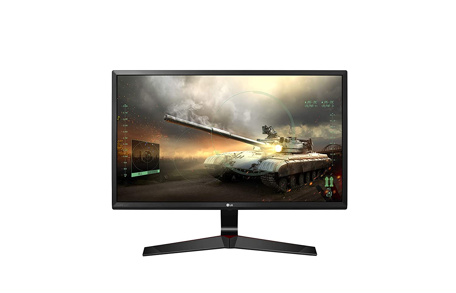 LG 24 inch Gaming Monitor - 1ms Refresh Rate , monitor for gaming , best monitor for gaming purpose, gaming monitor