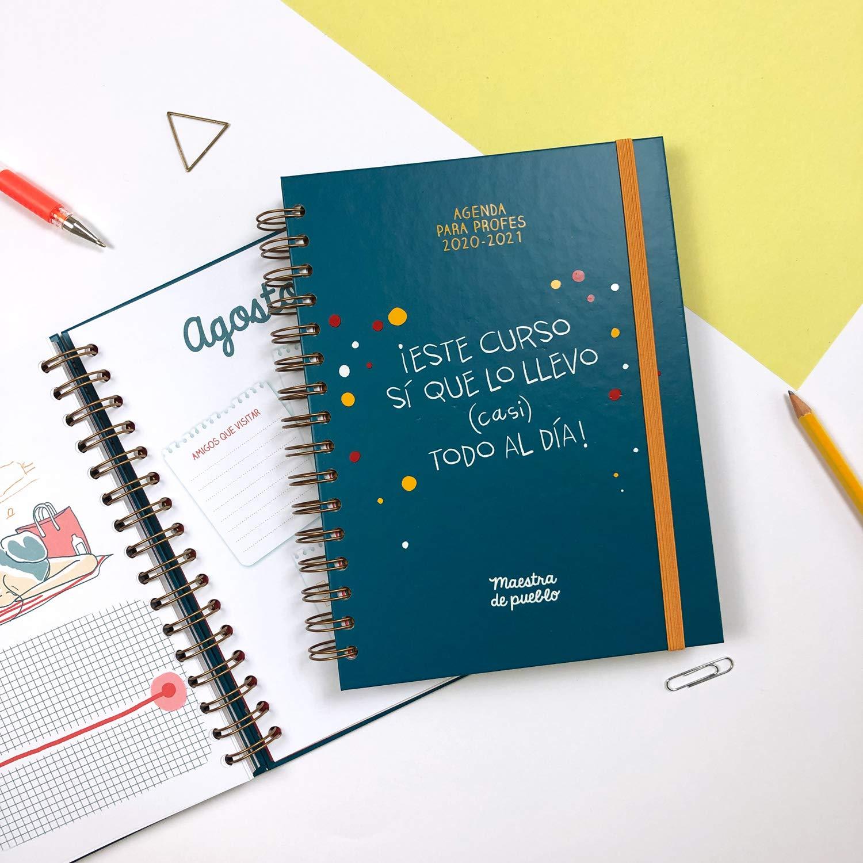 Agenda Maestra de pueblo 2020/2021 (Grijalbo): Amazon.es: Maestra de pueblo, Picazo, Cristina: Libros