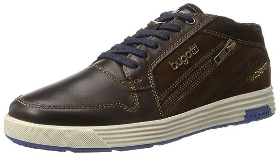 322284301614, Sneakers Basses Homme, Marron (Dark Brown/Brown), 40 EUBugatti