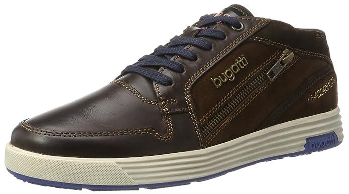 Bugatti 322284301614, Sneakers Basses Homme, Marron (Dark Brown/Brown), 40 EU