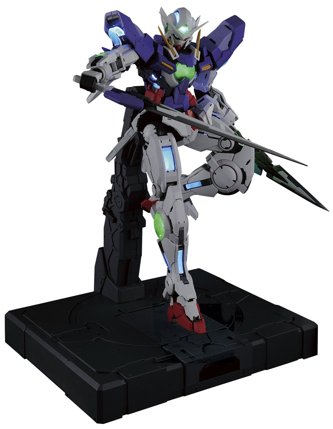 Bandai Hobby PG 1/60 GN-001 Gundam Exia (Lighting Mode) Model Kit Figure