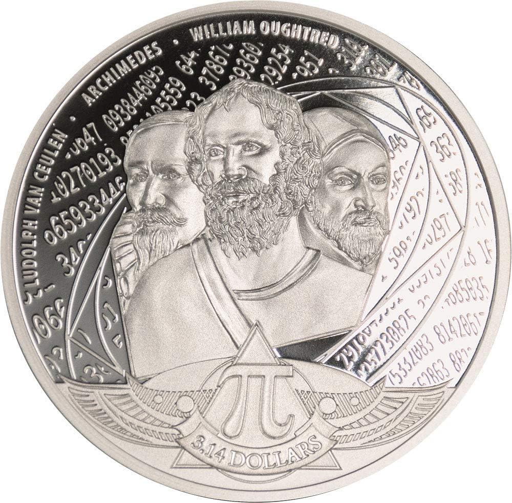 Power Coin Number PI 1 Oz Moneda Plata 3.14$ Solomon Islands 2020: Amazon.es: Juguetes y juegos