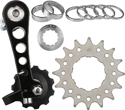 CyclingDeal Kit de conversión Fixie Bike Tensor de Cadena de ...