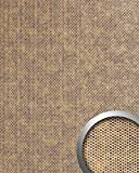 WallFace 17243 RACE Wall panel self-adhesive embossed 3D round decor structure wallcovering bronze silver | 2,60 sqm