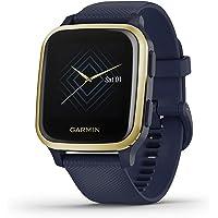 Garmin Venu Sq Smartwatch, gezondheid, GPS, geïntegreerd, multisport, cardio, pols, muziekgeheugen, Garmin Pay, lange…