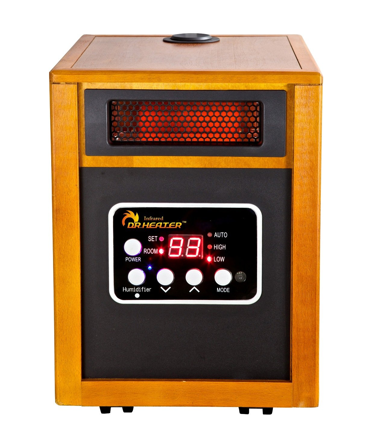 Dr. Infrared Heater Portable Space Heater with Humidifier, 1500-Watt by Dr Infrared Heater
