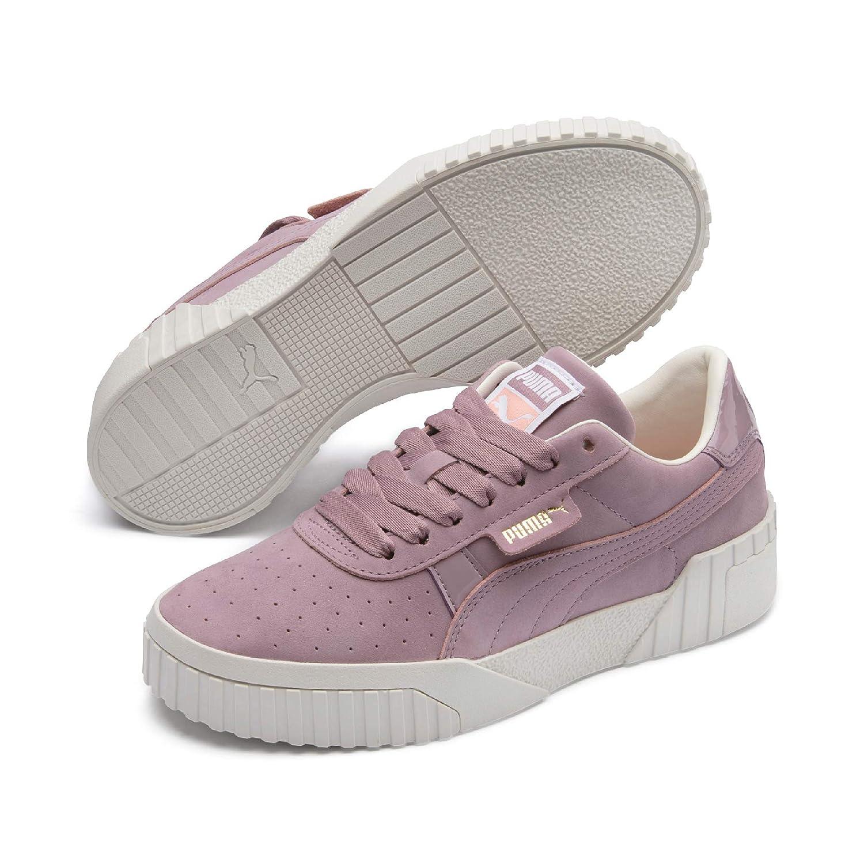 29cad2b44af7b Amazon.com | PUMA Women's Cali Nubuck WN's Low-Top Sneakers, Purple ...
