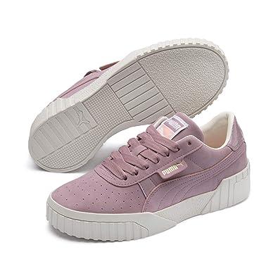 7b4bbaa692 Amazon.com   PUMA Women's Cali Nubuck WN's Low-Top Sneakers, Purple ...