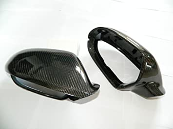 Carbon Spiegel Cover Spiegelkappen Mirror passend f/ür A6 RS6 S6 4G 7C