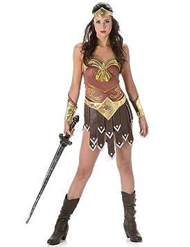 Disfraz de gladiadora mujer: Amazon.es: Juguetes y juegos