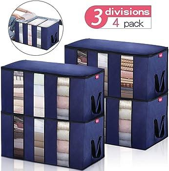 4-Pack Joyxeon Clothes Storage Bag Organizers