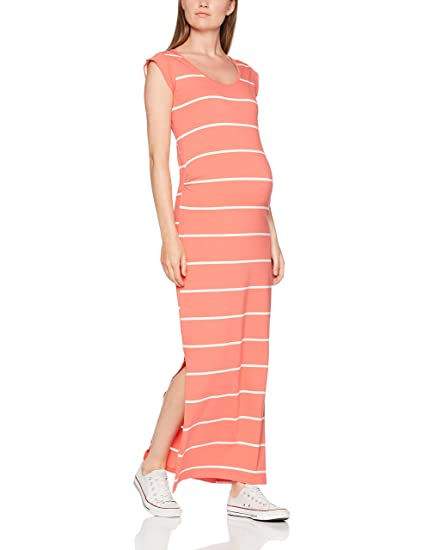 Womens Mllolly S/S Jersey Maxi Maternity Dress Mama Licious sWlQi