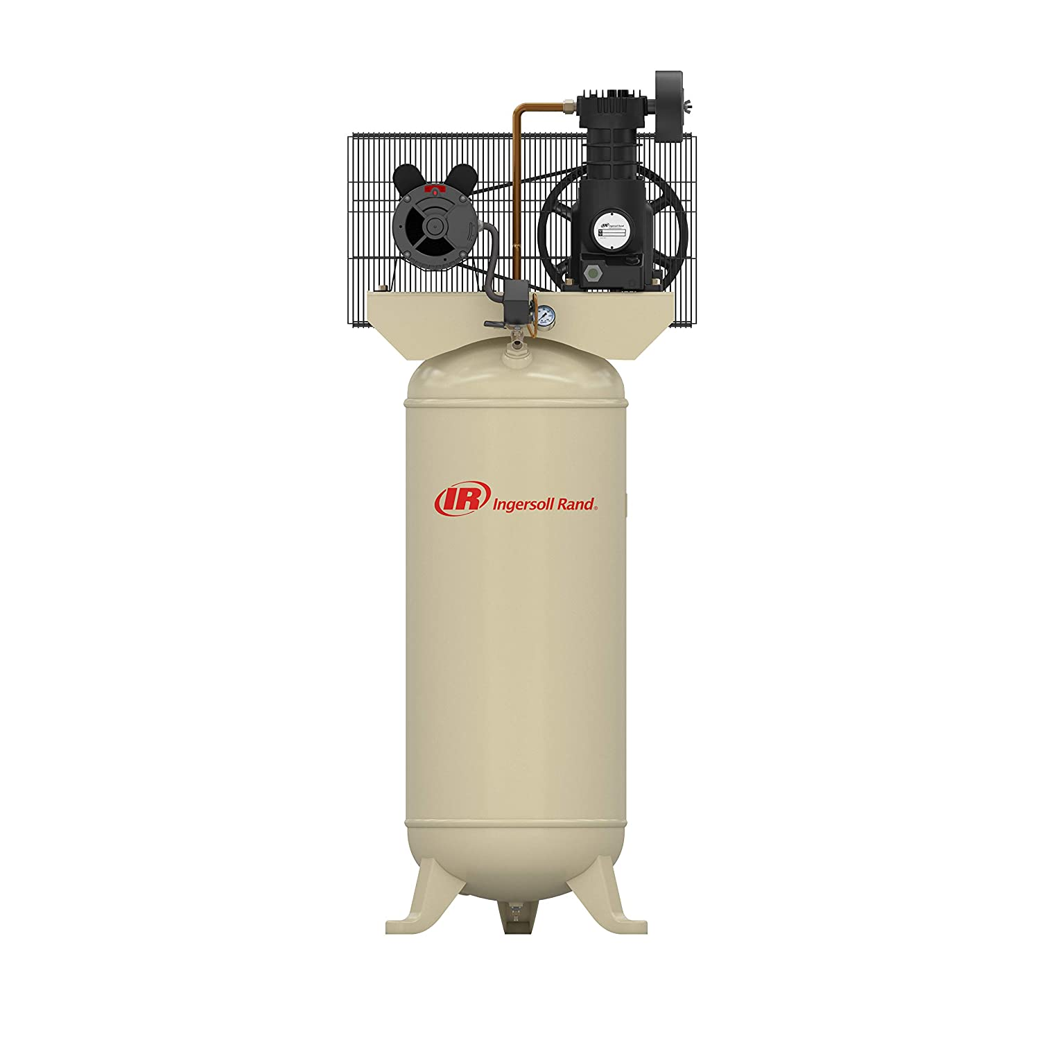 SS5 5HP 60 Gallon Single Stage Air Compressor (230V, Single Phase)