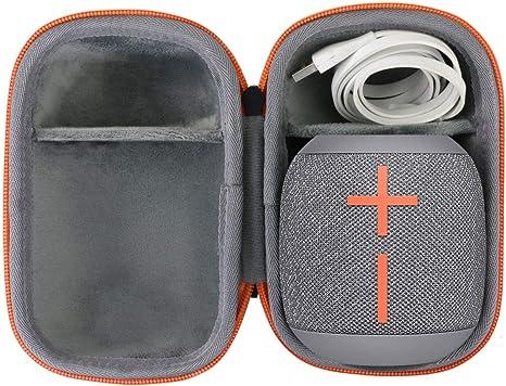 Noir//Rouge co2CREA Voyage Stockage Porter /Étui Housse Case pour Ultimate Ears UE Wonderboom 2 Enceinte Bluetooth