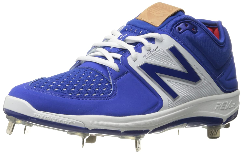 (ニューバランス) New Balance メンズ L3000v3 野球スパイクシューズ B019EEO8SW 10.5 D(M) US|ロイヤル/ホワイト ロイヤル/ホワイト 10.5 D(M) US
