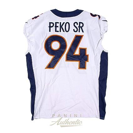 d756b36a Domata Peko Sr Game Worn Denver Broncos Jersey/Pant Set From 9/23/18 ...