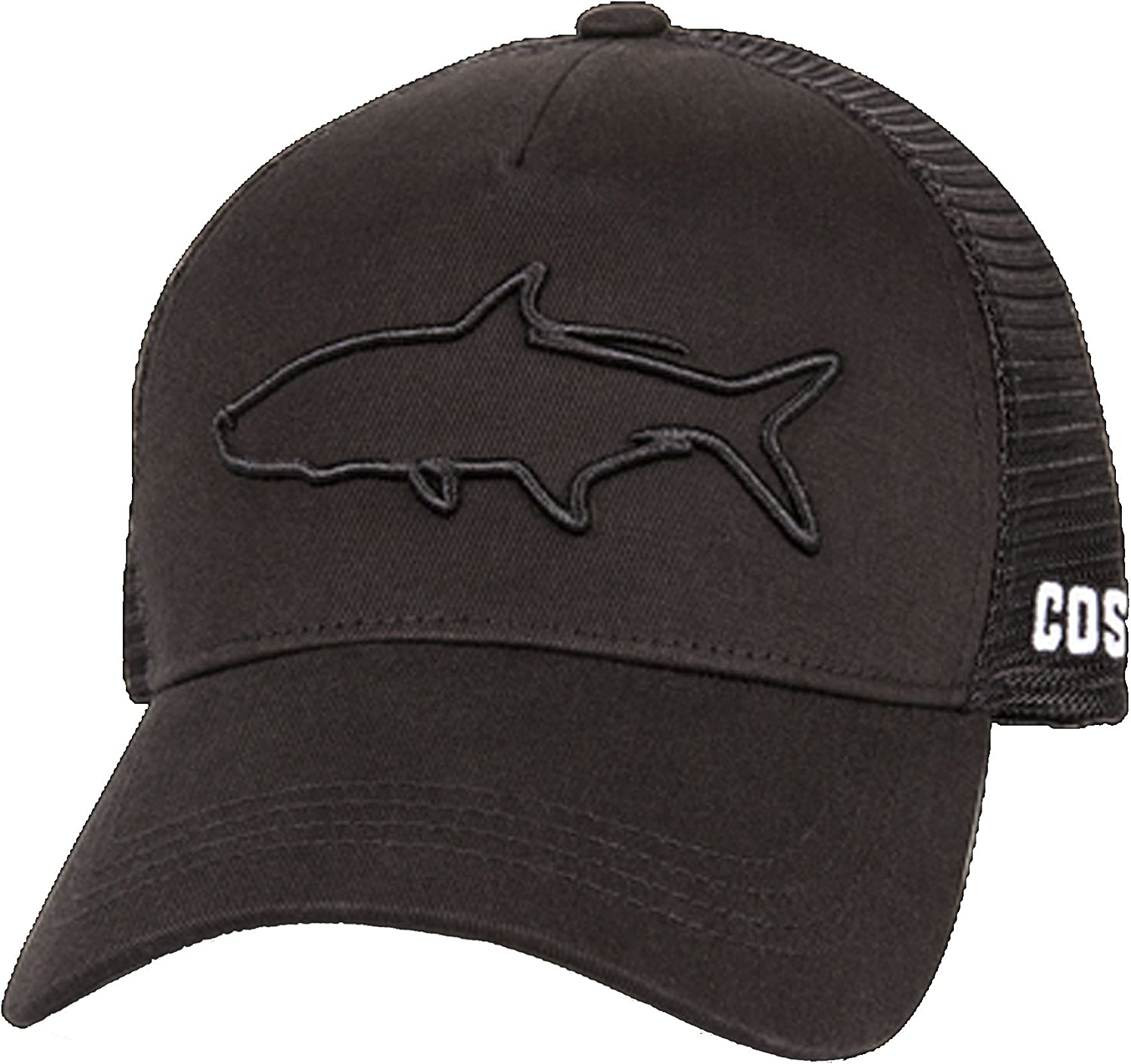 Costa Del Mar Stealth Tarpon Trucker Hat-Black