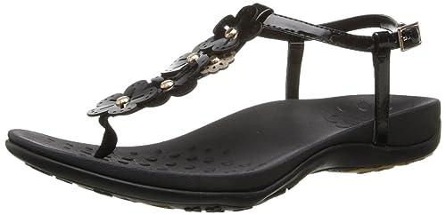 68b44604e Orthaheel Vionic With Technology Womens Julie Ii Sandal Black Size 5 UK  Size   3