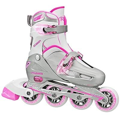 Roller Derby Cobra Girl's Adjustable Inline Skates : Sports & Outdoors