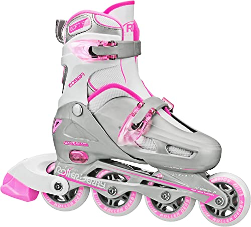 Roller Derby Cobra Girl's Adjustable Inline Skates