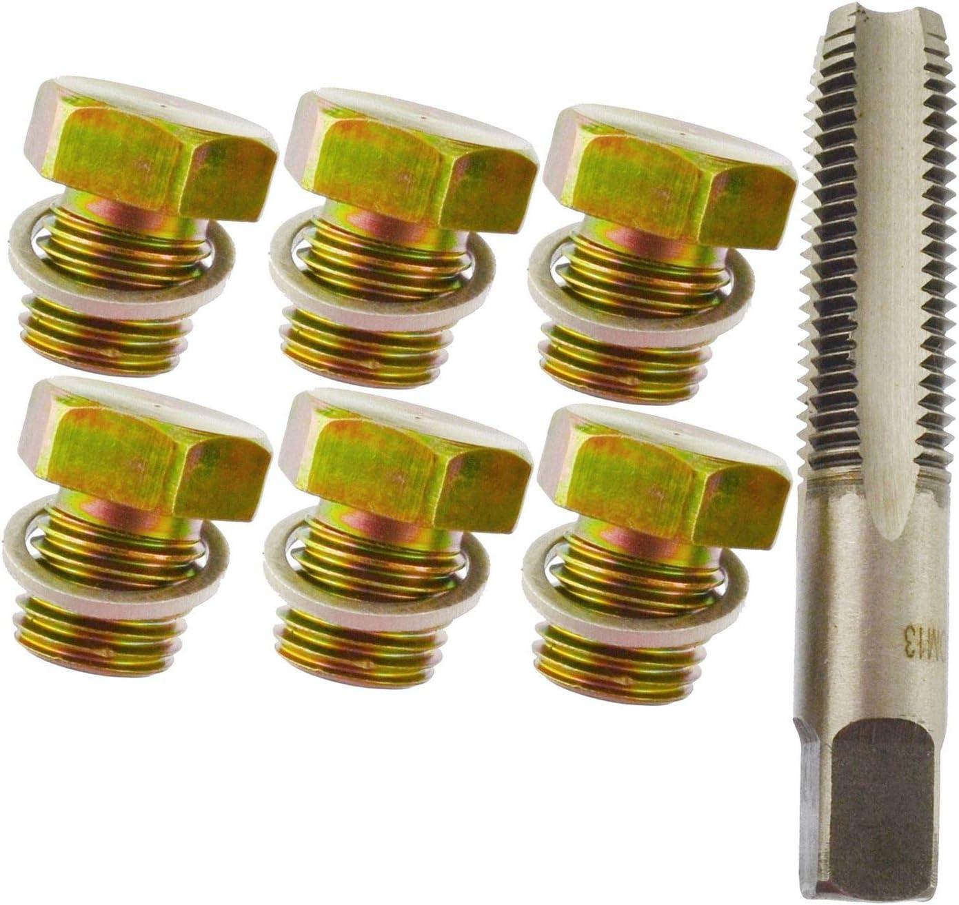 AN044 Kit de r/éparation de vidange dhuile avec filetage M12 M13