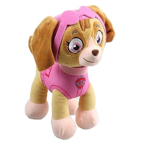 0b74320d9ef Paw Patrol 27Cm Skye Plush Stuffed Toy Kids Children Cuddly Soft Doll  Figure  Amazon.co.uk  Toys   Games