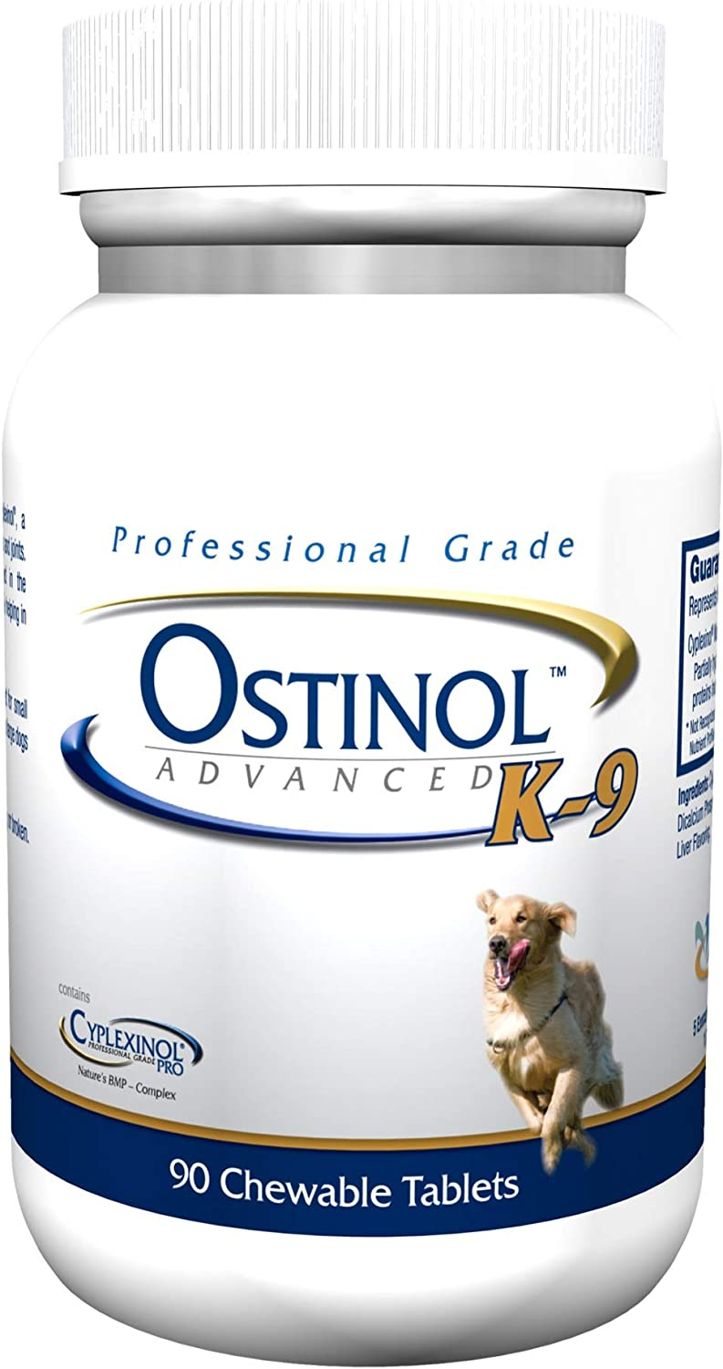 ZyCal Bioceuticals – Ostinol Advanced K-9 – Newest Professional Grade Formula, Powered by Cyplexinol Pro – 90 chews