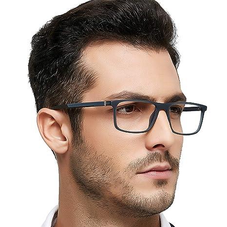 06557cde457 Optical Men s Eyewear Classic Non-prescription Eyeglasses (Gray+Black)   Amazon.ca  Luggage   Bags