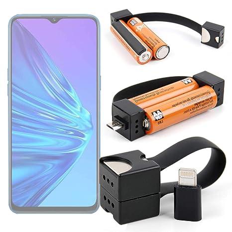 DURAGADGET Cargador de Llavero Compatible con Smartphone ...