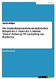 """Die Sonatenhauptsatzform. Eine Analyse des 1. Satzes der 3. Sinfonie """"Eroica"""" Es-Dur op. 55 von Ludwig van Beethoven"""