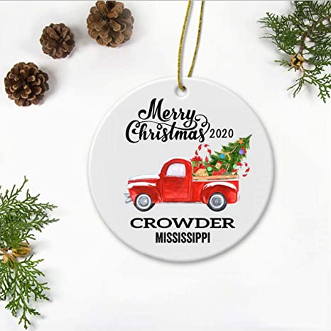 Christmas Tree Decor Tree Ornament Christmas Decorations Handmade Mississippi Christmas Ornament Mississippi State State of Mississippi