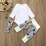 3pcs Toddler Infant Baby Boys Letter Clothes Set