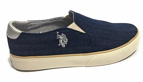 U.S.Polo Mujer Ruth zapatillas de tipo slip on, blu - NAVY, 41 ...
