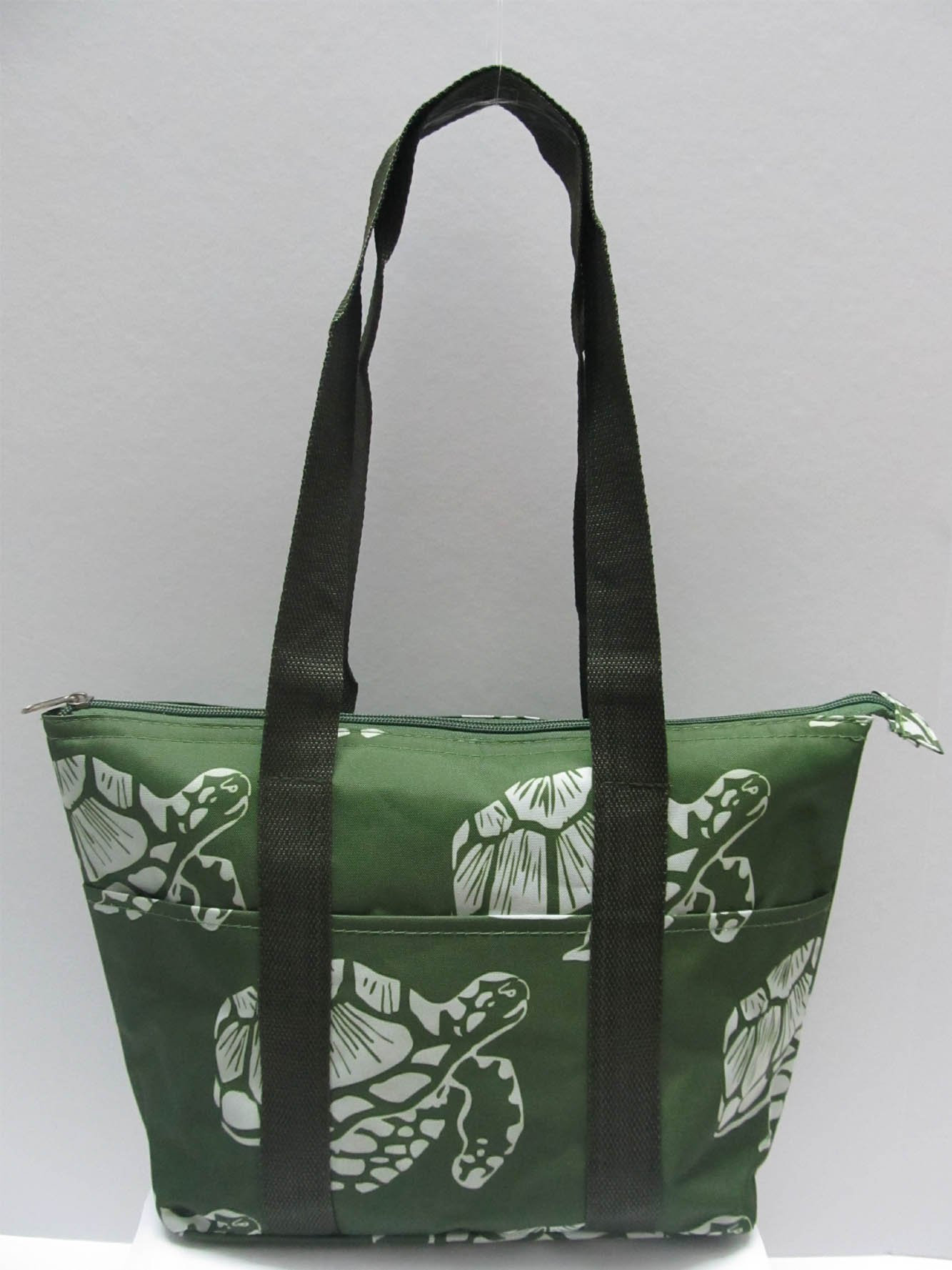 Good Bag Insulated Lunch Bag Portable Carry Storage Lunch Tote Bag - Turtle Green
