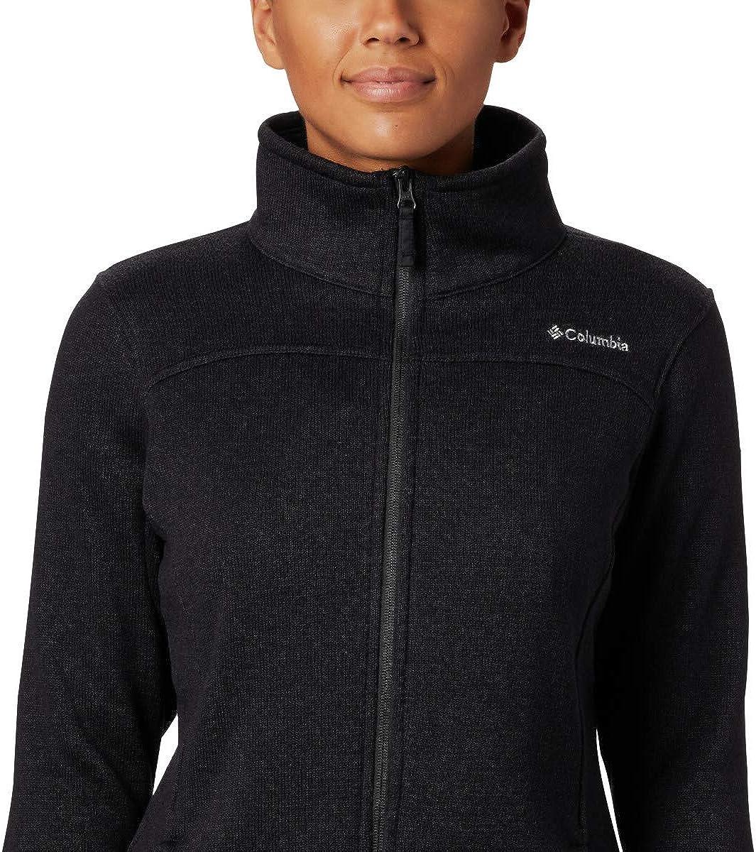 Columbia Womens Canyon Point Sweater Fleece Full Zip Classic Fit Soft Fleece