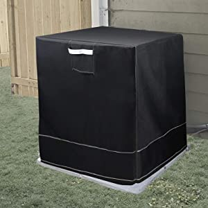 Daisypower Air Conditioner Cover for Outside Condenser AC Units,Full Outdoor Protection Heavy Duty Great Covers (34''D x 34''L x 30''H)