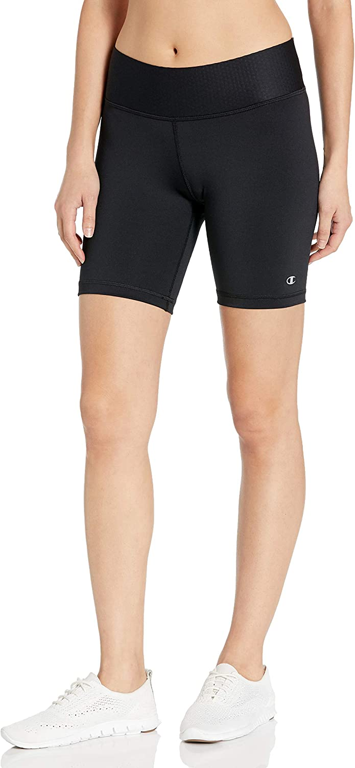 TALLA M. Champion Womens Absolute Fusion Shorts with SmoothTec (M0821)