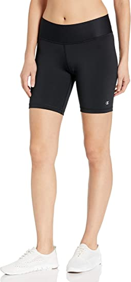 TALLA L. Champion Womens Absolute Fusion Shorts with SmoothTec (M0821)