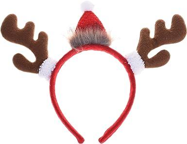 Brown Fur New Reindeer Antlers