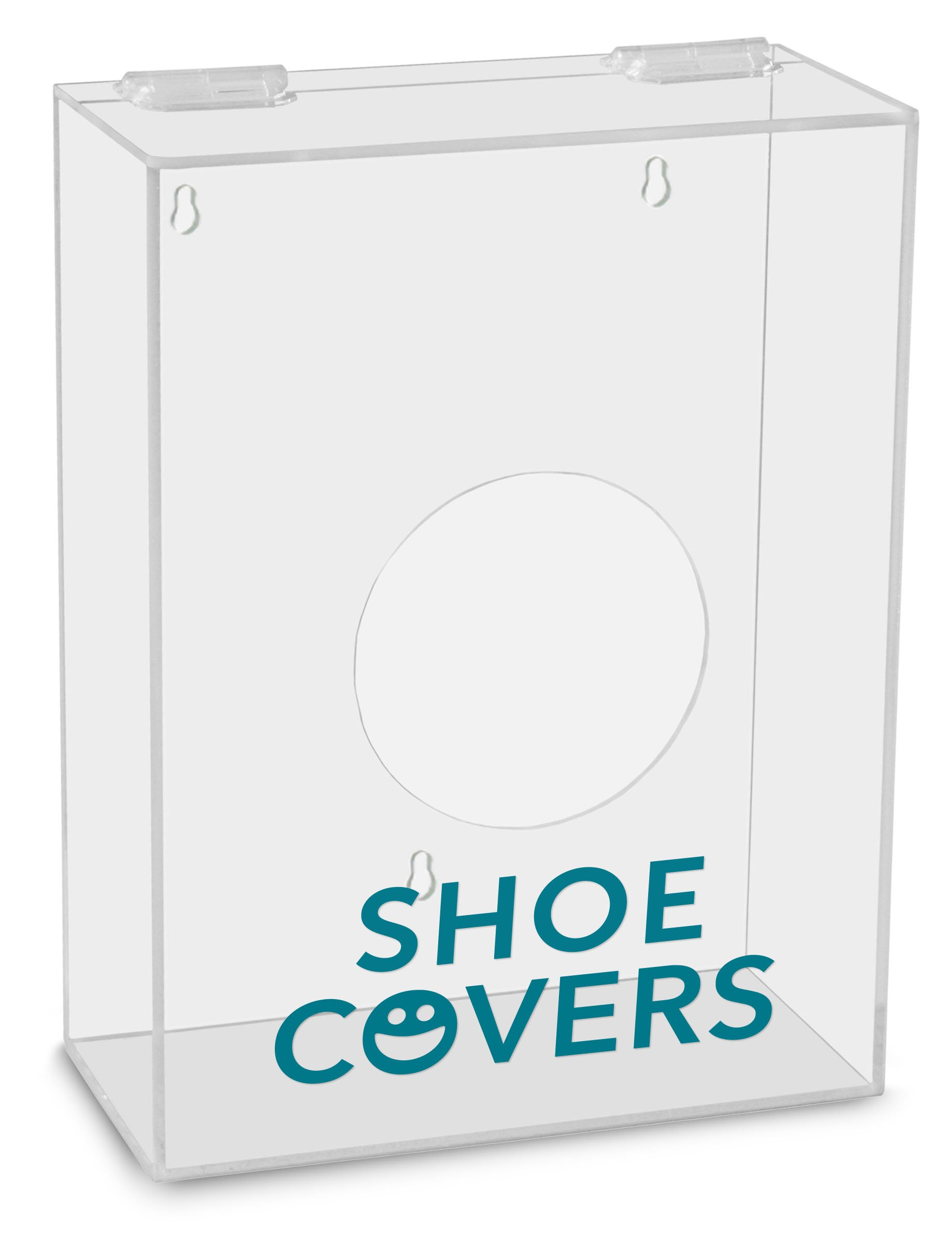 TrippNT 51316 Shoe Covers Labeled Small Apparel Dispenser, 9'' Width x 12'' Height x 4'' Depth