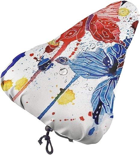 con funda resistente al agua y al polvo asiento de bicicleta de gel extra suave Funda de gel para asiento de bicicleta