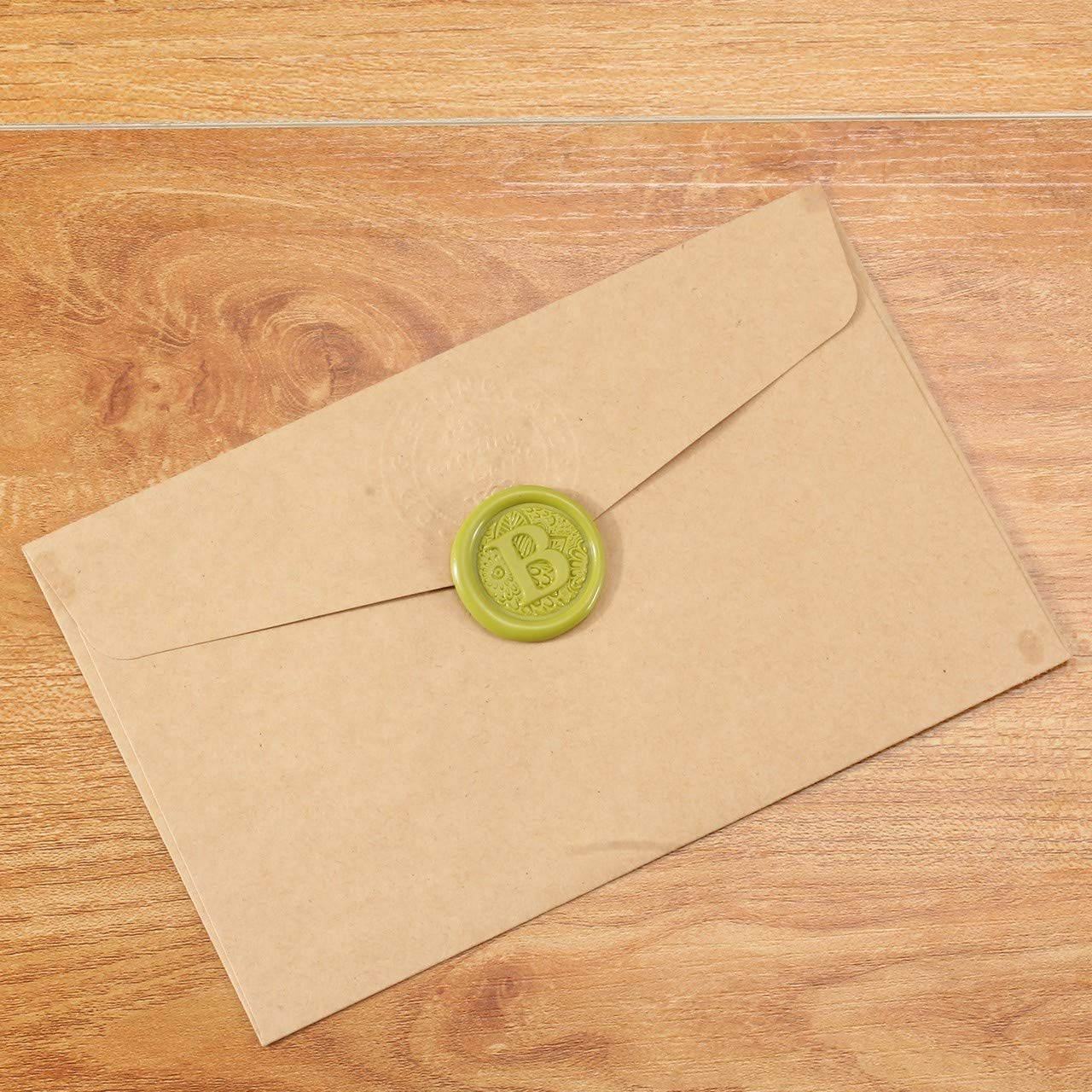 2 Ceralacca Bronzo con Stoppino Gli Iniziali Timbro in Ottone e Legno per Lettera Busta Documenti Privati Vintage G Mogokoyo 1 Sigillo Alfabeto A Z