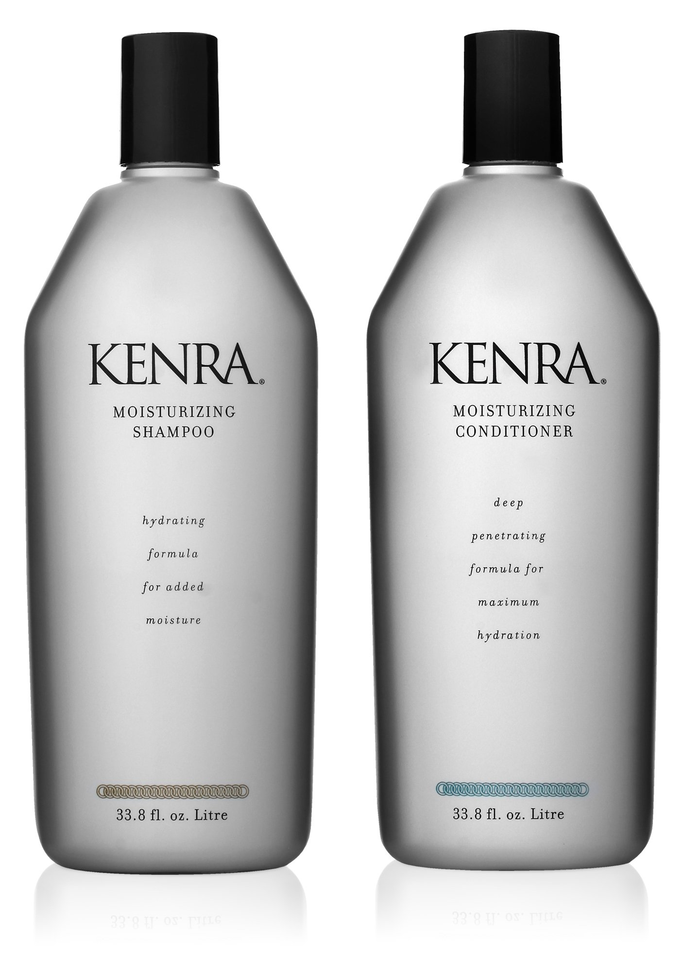 Kenra Professional Moisturizing Shampoo and Conditioner Set, 33.8-Ounce